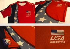 Olympic Quidditch teams jerseys available for purchase now - go support your country! | MuggleNet