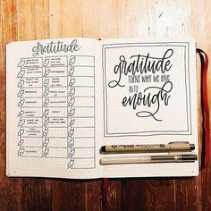 11 Inspiring Gratitude Logs for Your Holiday Bullet Journaling