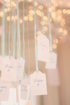 marque place papier romantique