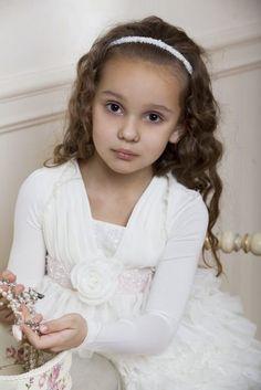 Vestidos de Damitas 2012. Coleccion Papilio Kids.