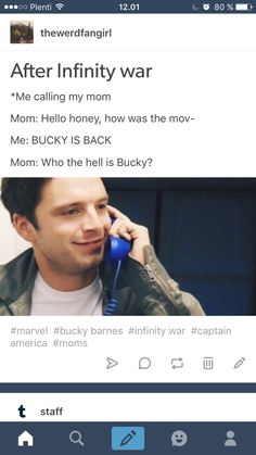 I think it's going to be more like, crying a lot, feeling my heart burst into pieces falling to the floor and just sit there like a parent who sees their grown-up kid. And if someone look at me and think I'm weird I'll say: I don't care. I love Bucky and Steve - their my babies. AND I could do this all day.