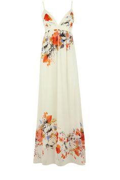 Oasis - Flower Print Maxi Dress