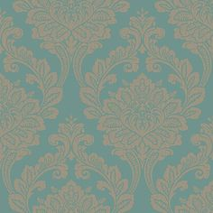 Arthouse Vintage Wall Paper Astoria Teal - Wallpaper Range - Wallpaper - Homewares - The Warehouse