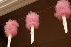cotton candy Garland
