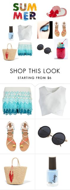 summer by gui-12791 on Polyvore featuring Chicwish, New Look and Sensi Studio