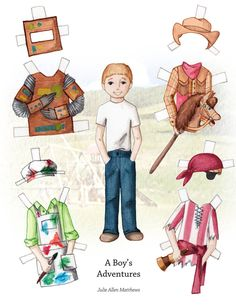 A Boy's Adventures: A Paper Doll by juliematthews on DeviantArt