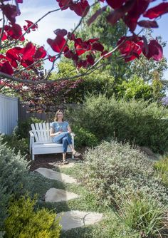 Newport Beach resident Mia Alexis already was remodeling her dream home – why not get her dream yard, too?
