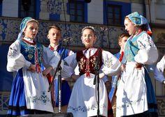 Region of Kaszuby. Polish Folk Costumes / Polskie stroje ludowe