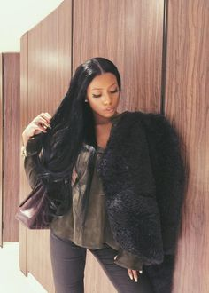Cookie (Hilary C) caribbeanmami Mommy Style, Style Me, Dope Fashion, Fashion Looks, Clermont Twins, Hair Inspiration, Black Women, Natural Hair Styles, Cute Outfits