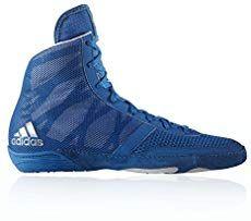 Adidas 2 Wrestling schuhe Boxing MMA schuhe Blau rot Weiß