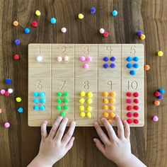 Montessori-friendly Educational Toys and Homeschool Materials on Etsy Diy Montessori Toys, Montessori Homeschool, Montessori Materials, Montessori Bedroom, Wooden Educational Toys, Educational Toys For Kids, Toddler Learning Activities, Learning Toys, Counting Activities