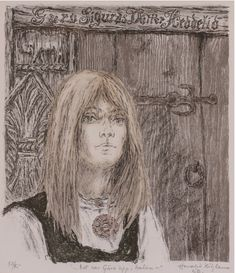 'Guro Heddelid' by Jørund Telnes (1845-92) illustrated by Harald Kihle (1905-97) - Det var Guro opp i Dalen  - It was Guro up in the Valley