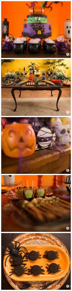 Decoração: tema de festa halloween  #decoração #halloween #festainfantil #fotografia #infantil  Gabriel Casagrande Fotografia