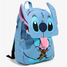 Loungefly Disney Lilo and Stitch Ice Cream Flap Backpack Stitch Backpack, Backpack Purse, Outfits Niños, Disney Outfits, Peluche Stitch, Cute Stitch, Lilo Stitch, Cute Backpacks, Cute Disney