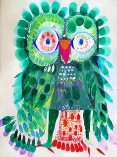 'Beverly Owl' by Jessie Breakwell