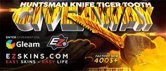 ★ Huntsman Knife   Tiger Tooth