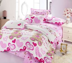 Home-textile-duvet-cover-bed-sheets-cotton-wedding-font-b-bedding