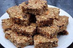 Gluten-Free Vegan Spiced Carrot Oat Bars w/ dates, walnuts, almonds ...