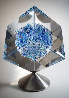 Glass Sculpture by John Kuhn