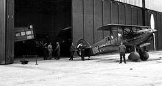 Smutný pohled na letiště v tehdejším Německém Brodě v druhé půlce března 1939… Ww2 Aircraft, Airplanes, Air Force, Fighter Jets, Army, Racing, Vehicles, Planes, Gi Joe