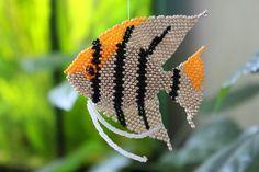 Рыбка Скалярия | biser.info - всё о бисере и бисерном творчестве