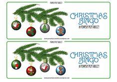 Christmas BINGO Christmas tree