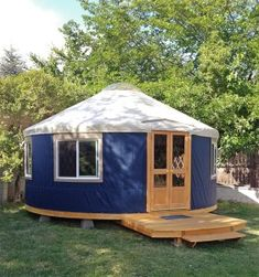 Glamping with Pacific Yurts Yurt Living, Tiny House Living, Pacific Yurts, Building A Yurt, Yurt Tent, Tents, Yurt Home, Round House, Cabin Plans