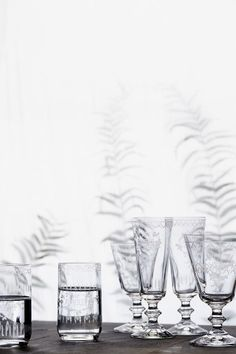 Wish Big, Win Big Giveaway from Anthropologie & BHLDN | Margeaux Glassware #wedding #registry