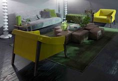 ARA FOTEL, SOFA CLOUD, STOLIK KAWOWY BLOCK