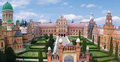 Митрополичний палац — найвизначніший шедевр архітектури Західної України — колишня резиденція митрополитів Буковини і Далмації, знаходиться в місті Чернівці.