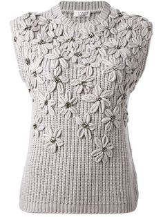 Shop Brunello Cucinelli embroidered embellished flowers sweater in Spinnaker 141 from the world's best independent boutiques at farfetch.com. Over 1000 designers from 60 boutiques in one website.