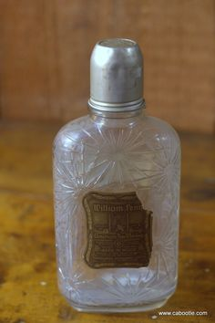 Cabootle - Vintage William Penn Whiskey Bottle circa 1940s/1950s, $53.00 (http://www.cabootle.com/products/kitchenware/barware/vintage-william-penn-whiskey-bottle-circa-1940s-1950s/)