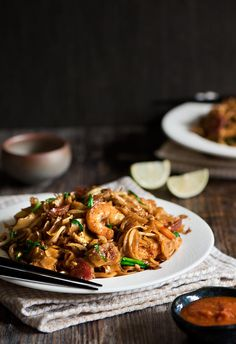 One of the most popular street food in Malaysia, Char Kway Teow is smoky fried noodles with lard, sausages and prawn cooked in just 5 minutes.