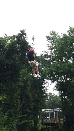 Ziplines at Camelback Mountain Adventures! #IAmAdventure #Poconos