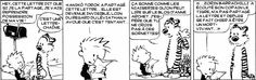 """Calvin and Hobbes, December 1986 - """"A man in Denver made 20 copies and the next day he got a raise. A man in Seattle broke the chain and he went bald. Photomontage, Jokes Quotes, Memes, Chain Letter, Calvin And Hobbes Comics, Going Bald, Feeling Down, Music Tv, Funny Cartoons"""