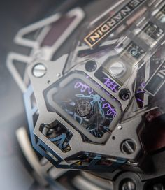 Awesome looking concept by Ulysse Nardin called InnoVision 2, taking the Freak collection and the company itself to another level and bringing us 10 new inventions. You won't believe how cool it is, until you read the article... Read all about it on: http://www.ablogtowatch.com/ulysse-nardin-innovision-2-watch/