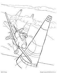 Dusty Coloring Page Dusty Coloring Pages