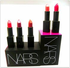 New lipstick! From NARS! Just the type of candy-sweet news to make our lipstick loving hearts go giddy-up...