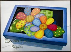 Discover thousands of images about Madera Country Tole Painting, Fabric Painting, Diy Painting, Painting On Wood, Country Crafts, Country Art, Painted Wooden Boxes, Hand Painted, Fabric Storage Boxes
