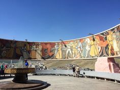 russisches Soldatendenkmal in Ulaanbaatar #taipan_mongolei #ulaanbaatar #mongolei Tapestry, Mongolia, Buddhism, Woodland Forest, Landscape, Hanging Tapestry, Tapestries, Needlepoint, Wallpapers
