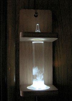 Glowing Fitzroy Storm Glass