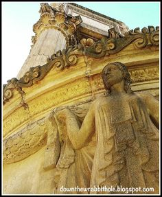 """Detail from San Francisco's Palace of the Fine Arts. Find out more at """"Down the Wrabbit Hole - The Travel Bucket List"""". Click the image for the blog post."""