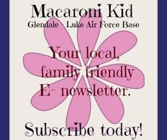 Do you live and play in the Glendale, West Phoenix, and Luke Air Force Base area? If you do then Macaroni Kid Glendale is for you!