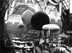 Salon de Locomotion Aérienne  Grand Palais, Paris, 1909