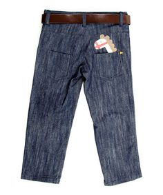 Take a look at this Midnight Wash Horse Jeans - Infant, Toddler & Boys by Lourdes on #zulily today!