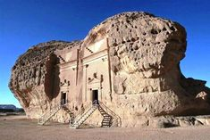 Madain Saleh, Saudi Arabia Dating back to the second century BC, the Nabataean archaeological site, also known as Madain Saleh, has long been hidden from foreign visitors in this ultra-conservative kingdom that rarely opens up to tourists. Ancient Ruins, Ancient Artifacts, Ancient History, European History, Ancient Greece, Ancient Egypt, American History, Architecture Antique, Ancient Buildings