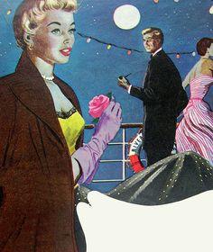 Shipboard Romance Ahead! ~ Aubrey Rix, 1952