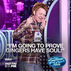 Karl from Joplin, MO proves to the Idol judges that gingers have soul! What did you think of Karl's soulful performance and Ryan Seacrest impression?     #americanidol #idol #idolauditions #idolbus  Check out Karl's audition here: http://www.americanidol.com/videos/season_12/season_12_memorable_auditions/karl-skinner-auditions