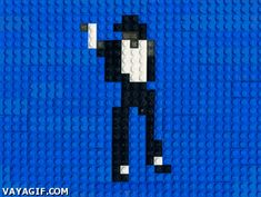 michael jackson lego gif | Funny People Images
