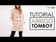 DIY tutorial costura: Abrigo Tomboy molde o patrón Mabrig 1801 te enseñaremos el paso a paso para poder realizar este hermoso abrigo Tomboy muy de moda para este invierno Hoodie Pattern, Tomboy, Diy Tutorial, Hoodies, Sewing, How To Make, Jackets, Fashion Design, Youtube